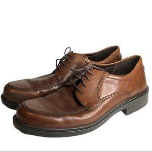 Ecco Men's Boston Leather Lace-Up Shoe 46/12
